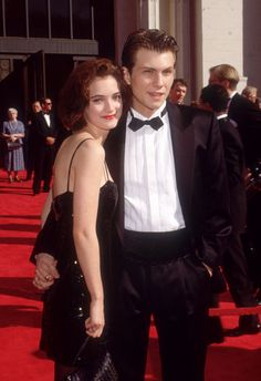 Winona Ryder and Christian Slater, 1989