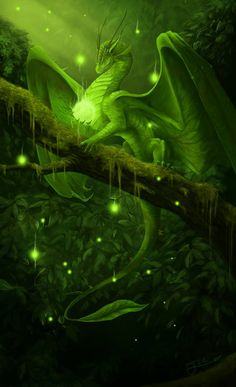 .This reminds me of Cyan Bloodbane, a green dragon from the Dragonlance series.  Here he would be pictured with his treasured dragon orb.
