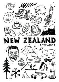 Key Tattoos, Foot Tattoos, Skull Tattoos, Sleeve Tattoos, Flower Tattoo Foot, Flower Tattoos, Travel Doodles, New Zealand Tattoo, Moving To New Zealand