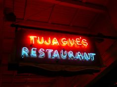New Orleans, LA Tujague's Restaurant neon sign by army.arch,
