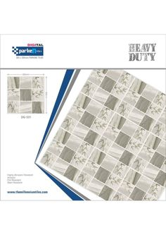Millennium Tiles 305x305mm (12x12) Digital Heavy Duty Outdoor...  Millennium Tiles 305x305mm (12x12) Digital Heavy Duty Outdoor Full-Body Porcelain Parking Tiles Series.https://goo.gl/7DBGHH - DG 531 - Highly Abrasion Resistant - Anti Skid - Fire Resistant - Stain Resistant - Certifications: ISO 9001:2008 ISO 14001:2004 CE
