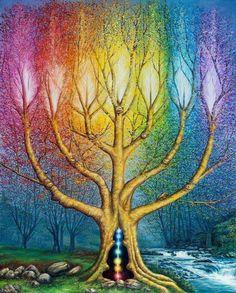 """Tree of life/ """"El árbol de luz"""""""