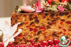 Фруктовый кекс к Рождеству - кулинарный рецепт