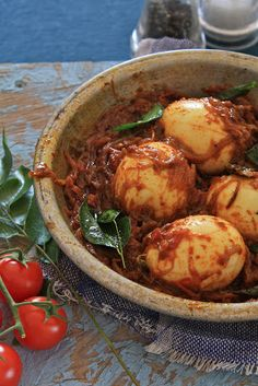 Plateful: Kerala Style Egg Roast — Naadan Mutta Roast