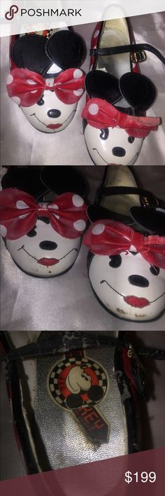 Vintage antique kids Minnie Mouse shoes 8.5 Vintage antique kids Minnie Mouse shoes 8.5   All sales are final. Payments must be made through Poshmark. Inquiries will be answered as soon as possible. Items are shipped within three business days. Shoes Dress Shoes