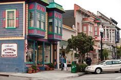 victorians+in+pacific+grove   Victorian buildings in the town of Pacific Grove, Calif. (Kerrick ...