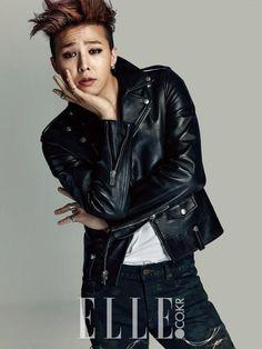 Big Bang G-Dragon - Elle Magazine February Issue Daesung, Gd Bigbang, Bigbang G Dragon, Kpop Fashion, Asian Fashion, Men Fashion, Baby Baby, Dragon Poses, Sung Lee