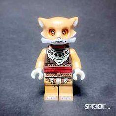 Lego® Chima Furty Fox Minifigure from Swamp Jump 70111
