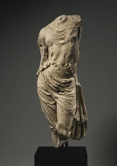 A Hellenistic Marble Torso of Aphrodite, circa 1st Century B.C.