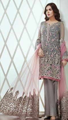 Jazmin Light Party Wear And Formal Wear at Retail and whole sale prices at Pakistan's Biggest Replica Online Store Pakistani Wedding Dresses Online, Pakistani Party Wear Dresses, Indian Gowns Dresses, Party Wear Lehenga, Pakistani Dress Design, Pakistani Outfits, Indian Outfits, Party Dresses, Summer Dresses
