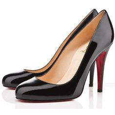 08502996c904 Christian Louboutin Ron Ron Pumps Black Combines Classical Art With  Fashion