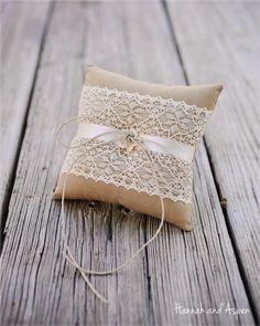 Tarah  6x6 Wedding ring pillow  Wedding ring by HannahAspensbridal, $17.00
