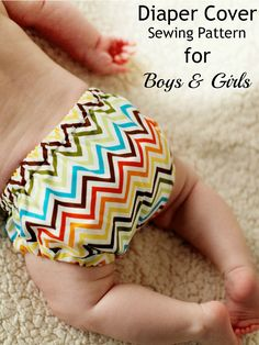 Adorable boys girls diaper cover sewing pattern by whimsy couture. It has a great fit and works with knit fabric as well!
