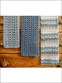 Easy Lace Scarves Knit Pattern
