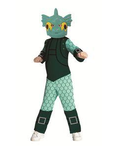 Skylanders Gill Grunt Boys Costume