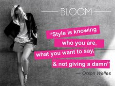 Fashion Quote of the day!!!! #Delhi #Shopbloom #DelhiFashion #Accessories #Apparel #OOTD #Style #Womenswear #Trendy #Shortandsweet #DelhiDiaries #IndianFashion #Fashionable #Instamood #Dressitup #Delhi #Popular #RetailTherapy #outfitoftheday #OOTD #fashionblogger #photooftheday #newoutfitpost #fashionblog #ontrend #WeekendShopping #newcollection #Comeonin