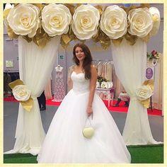 "616 Likes, 21 Comments - БОЛЬШИЕ ЦВЕТЫФОТОЗОНЫ (@fortunadecor) on Instagram: ""✨Роскошная свадебная арка от @fortunadecor✨Продажа и аренда .…"""