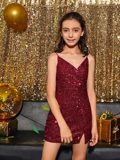 Girls Dresses Tween, Girls Spring Dresses, Cute Girl Dresses, Dresses For Teens, Trendy Dresses, Cute Little Girls Outfits, Teen Girl Outfits, Pretty Outfits, Young Girl Fashion