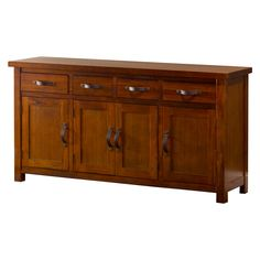 Shop for Hillsdale Furniture Outback Buffet. Get free delivery On EVERYTHING* Overstock - Your Online Furniture Shop! Get in rewards with Club O! White Sideboard, Large Sideboard, Oak Sideboard, Sideboard Ideas, Dining Room Furniture, Furniture Design, Hillsdale Furniture, Wooden Plates, Table Accessories