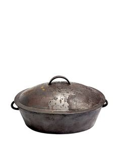 Vintage Cast Iron Oval Dutch Oven, c. 1900s, http://www.myhabit.com/redirect/ref=qd_sw_dp_pi_li?url=http%3A%2F%2Fwww.myhabit.com%2F%3Ftag%3Dmypinintitem-20%23page%3Dd%26dept%3Dhome%26sale%3DA3NTQ0OES761RC%26asin%3DB00CZ4OTAG%26cAsin%3DB00CZ4OTAG