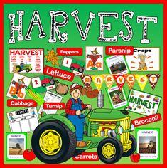 HARVEST FESTIVAL AND FARM SHOP ROLE PLAY SCIENCE FOOD EYFS KS1-2 SEASON Harvest Crafts For Kids, Harvest Festival Crafts, Fall Preschool Activities, Eyfs Activities, Harvest Eyfs, Harvest Poems, Celebrate Good Times, Creative Curriculum, Farm Shop