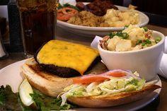Elegant sandwiches | Beacon Hills Burger …….. $8.99 – Char-broiled half pound of ...