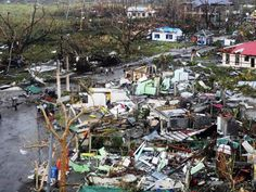 """Disaster and devastation zone after """"Bad Girl"""" Typhoon Yolanda hit the Philippines hard with strong winds of over 300km/h #supertyphoonyolanda #supertyphoonhaiyan #philippines #supertyphoon"""