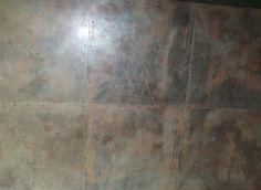 grassello ad effetto metallico wall decor