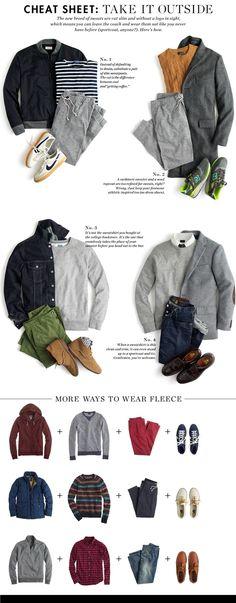 Regole ed accostamenti abbigliamento uomo