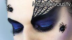 MissChievous.tv: Spider Queen Look for Halloween