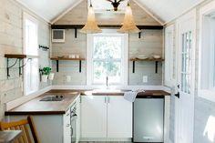 Bright, Spacious Kitchen - Tiny Marta by Sanctuary Tiny Homes