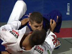 Leo Vieira BJJ - Butterfly sweep variation rocking and use momentum after lifting him up; grap leg and sweep