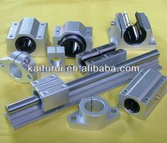 printer design printer projects printer diy Extrusion ideas Extrusion ideas Source cnc linear guide linear bearing on m. Cnc Router Parts, Diy Cnc Router, Cnc Parts, Cnc Lathe, Bandsaw Mill, 3d Cnc, Maker Shop, Woodworking Bench, Woodworking Projects