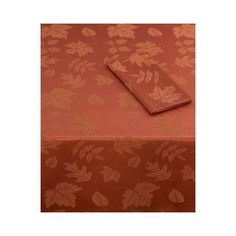 Sam Hedaya Macy's Table Linens, Dinner Party Table Runner, Spice by Sam Hedaya. $29.00. Cinnamon Color Damask woven tone-on-tone autumn leaves     52 Percent Cotton, 48 Percent Polyester     Machine Washable