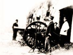 """Il 24 Gennaio del 1904, alle 12,00, viene """"sparato"""" il primo colpo di cannone dal Gianicolo."""