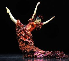Tamara Rojo in the title role of Carmen performed by The Royal Ballet in 2010. |  Photographed by ALASTAIR MUIR
