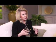 #JoanRivers Talks Tailoring - The Importance of Fit