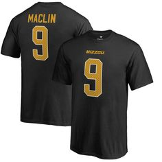 Jeremy Maclin Missouri Tigers Fanatics Branded Youth College Legends Name & Number T-Shirt - Black