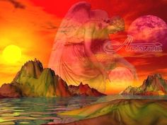 Title:Fallen Moon; Artist Name:Brian Exton; Description: This outstanding piece of art has been created ...; Art Form:Digital Art / Computer Art; Style:Photorealism; Media:Digital; Genre:Fantasy