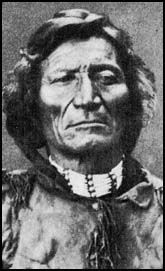 Morning Star (Cheyenne: Vóóhéhéve, also known by his Lakota Sioux name Tamílapéšni, Dull Knife) (born c. 1810, died 1883), was a great chief of the Northern Cheyenne people during the 19th century. He was noted for his active resistance to Western expansion and the Federal government. It is due to the courage and determination of Morning Star and other Cheyenne leaders that the Northern Cheyenne still possess a homeland in their traditional country (present-day Montana). Wikipedia