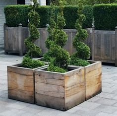 planter boxes ****like