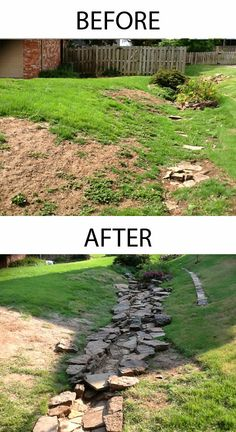 Before & After Rock Creek