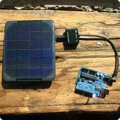 Three Ways to Power an Arduino Off-Grid