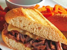 French Dip Sandw  Crockpot French Dip :)