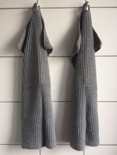 Handknitted guest towels - by GJ: Strikkede gæstehåndklæder Guest Towels, Knitting For Beginners, Knitwear, Sweaters, Blog, Diy, Inspiration, Sustainability, Slippers