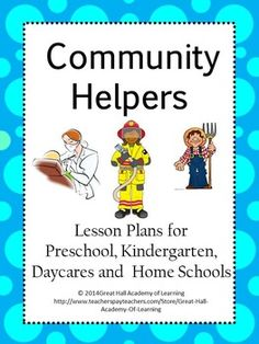 Community Helpers and Community Workers Hats from robin sellers ...