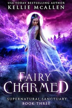 Fairy Charmed by Kellie McAllen Vampire Romance Books, Paranormal Romance Books, Fantasy Romance, Romance Novels, Fantasy Books To Read, Beautiful Book Covers, Inspirational Books, Classic Books, Bestselling Author