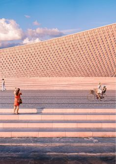 #MAAT Museum of Art, Architecture & Technology in Lisbon - via eArchitect 25.02.2016 | #Portugal #travel The EDP Foundation today announced that it will open MAAT, a new Museum of Art, Architecture and Technology for Lisbon, on the 4-5 of October 2016. The new museum will become the centrepiece of one of the Portuguese capital's most popular cultural areas, the historic riverside district of Belém.