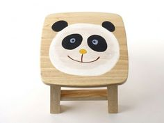 Panda foot stool, perfect for meetings.  If you know me you know exactly what i mean [;