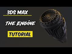 max airplane engine part 1 3ds Max Tutorials, Blender Models, 3d Studio, 3d Max, Airplane, Engineering, Youtube, 3d Modeling, Concept Art